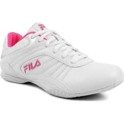Women's Fila Radiant 2 White/Metallic Silver/Knockout Pink