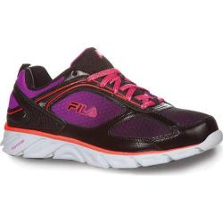 Women's Fila Stride 3 Black/Purple Cactus Flower/Fiery Coral