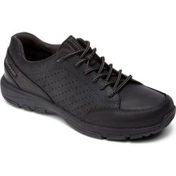 Men's Rockport Make Your Path Lace to Toe New Black Leather