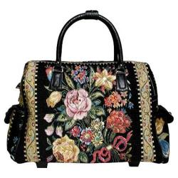 Women's Mellow World HB1078 Flower Shop Black