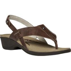 Women's Propet Mariko Chestnut Leather