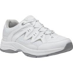 Men's Propet Nelson White Leather/Mesh