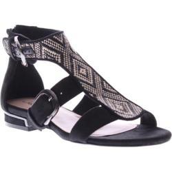 Women's Azura Southgate Black Fabric/Manmade