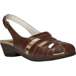 Women's Propet Alisha Chestnut Leather