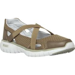 Women's Propet TravelLite Mary Jane Taupe Nylon