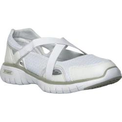 Women's Propet TravelLite Mary Jane White Nylon
