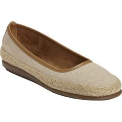 Women's A2 by Aerosoles Rock Solid Natural Fabric