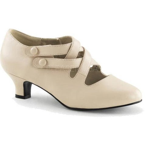 Women's Funtasma Dame 02 Cream PU