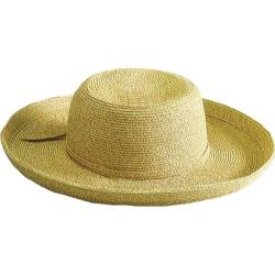 Women's San Diego Hat Company Paperbraid Large Brim Hat PBL1 Wheat