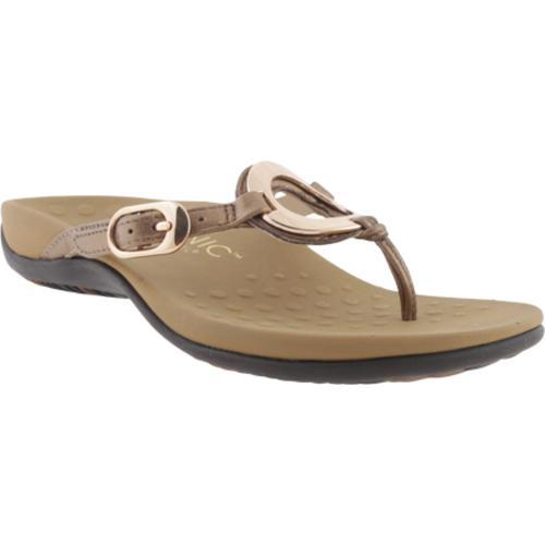 a8ff7e5625c0 Shop Women s Vionic with Orthaheel Technology Karina Bronze - Free Shipping  Today - Overstock - 9960415