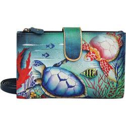 Women's Anuschka Large Smart Phone Case & Wallet Ocean Treasures