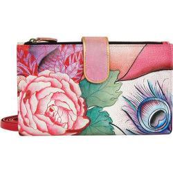 Women's Anuschka Large Smart Phone Case & Wallet Rosy Reverie