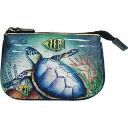 Women's Anuschka Medium Coin Purse Ocean Treasures