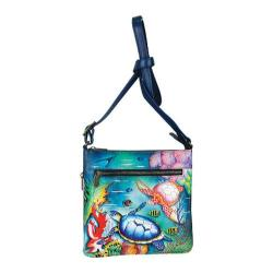Women's Anuschka Medium Crossbody Ocean Treasures