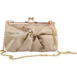 Women's J. Renee CL030 Gold Harlequin Glitter Fabric