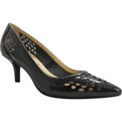 Women's J. Renee Halinatoo Black Faux Patent Leather