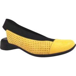 Women's J. Renee Niro Yellow/Black Nubuck