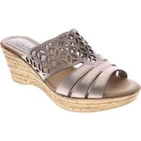 Women's Spring Step Vino Soft Gold Leather