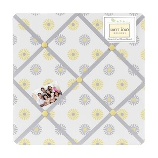 Sweet Jojo Designs Mod Garden Fabric Bulletin Board