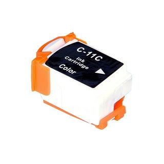 Canon BCI11 (BCI11C) Color Compatible Inkjet Cartridge (Remanufactured)