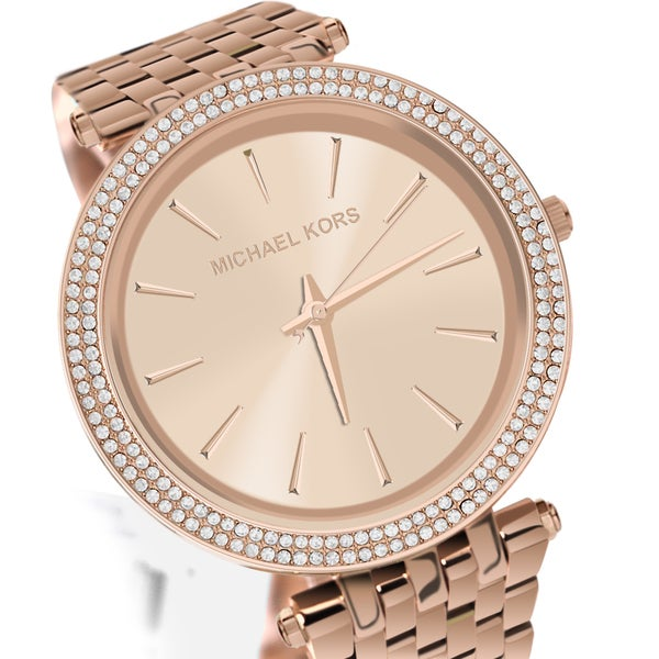 58e5d4249a83 Michael Kors Women u0027s MK3192  u0027Darci u0027 Rose Goldtone Stainless  Steel Watch -