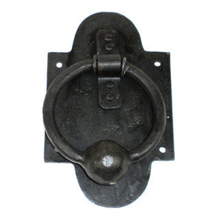 Iron Ring and Ball Door Knocker (India)