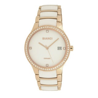 Roberto Bianci Women's Bella Ceramic White Dial Watch