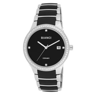 Roberto Bianci Women's Bella Ceramic Zirconia Studded Bezel Watch