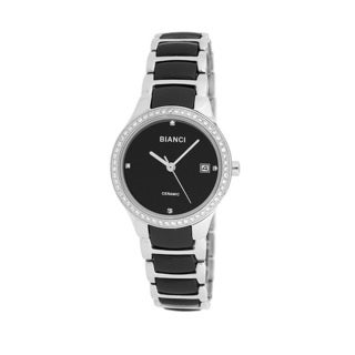 Roberto Bianci Women's Bella Ceramic Black Dial Watch