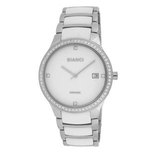 Roberto Bianci Women's Bella Ceramic White Dial Watch
