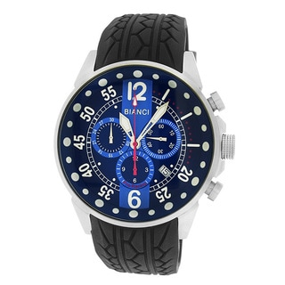 Roberto Bianci Men's Pro Racing Chronograph Blue Face Watch