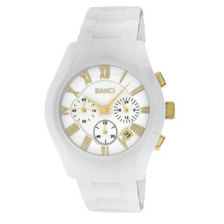 Roberto Bianci Men's White Ceramic Chronograph Watch