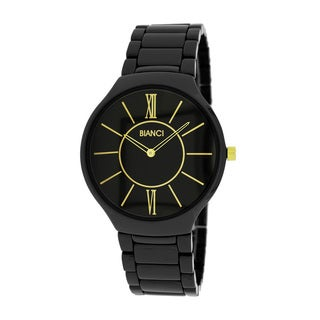 Roberto Bianci Unisex Black Ceramic Watch