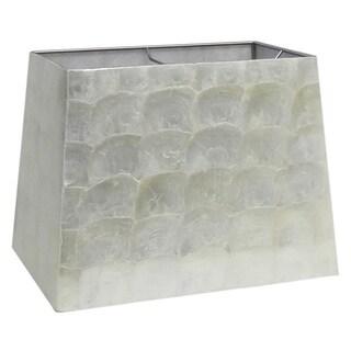 White Capiz 10.5-inch Lamp Shade