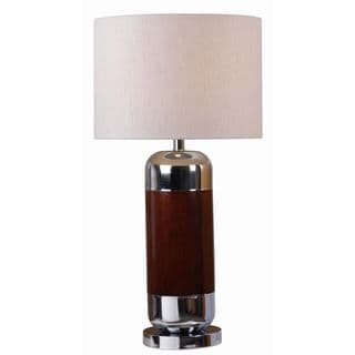 Alton Mahogany Table Lamp