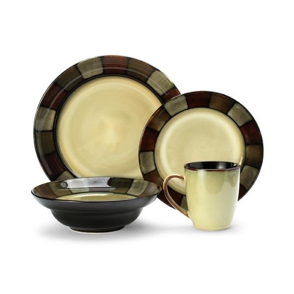 Pfaltzgraff Everyday Taos Stoneware 16-piece Dinnerware Set  sc 1 st  Overstock & Pfaltzgraff Everyday Taos Stoneware 16-piece Dinnerware Set - Free ...