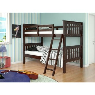 Link to Donco Kids Mission Tilt Ladder Twin Bunk Bed Similar Items in Kids' & Toddler Furniture