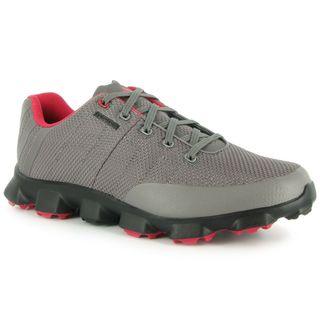 Adidas Men's Crossflex Iron/ Black/ Red Golf Shoes