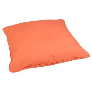 Melon 26-inch Square Indoor/ Outdoor Floor Pillow with Sunbrella Fabric