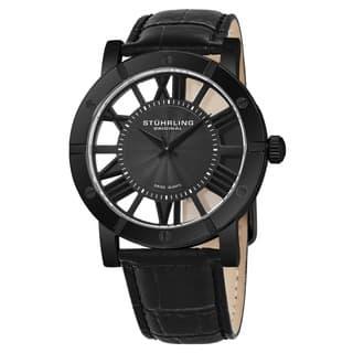 Stuhrling Original Men's Winchester Advanced Swiss Quartz Strap Watch|https://ak1.ostkcdn.com/images/products/8701046/P15952072.jpg?impolicy=medium