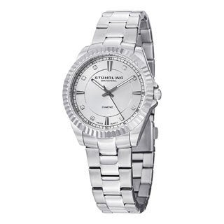 Stuhrling Original Women's Lady Marine Diamond Swiss Quartz Bracelet Watch