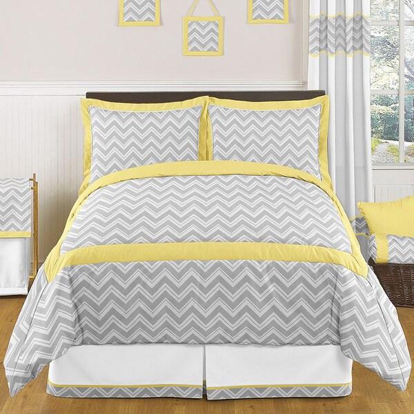 Sweet Jojo Designs Chevron Zigzag 3-piece Full/Queen Comforter Set