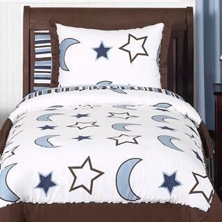 Sweet Jojo Designs Stars and Moons 3-piece Full/Queen Comforter Set