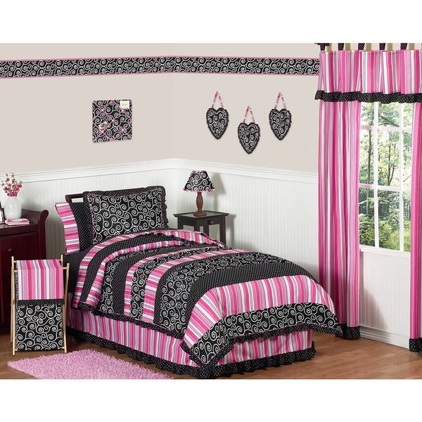 Sweet Jojo Designs Madison 3-piece Full/Queen Comforter Set