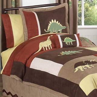 Sweet Jojo Designs Dinosaur 3-piece Full/ Queen Comforter Set