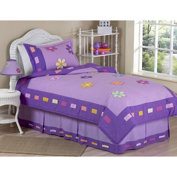 Sweet Jojo Designs Danielle's Daisies 3-piece Full/Queen Comforter set