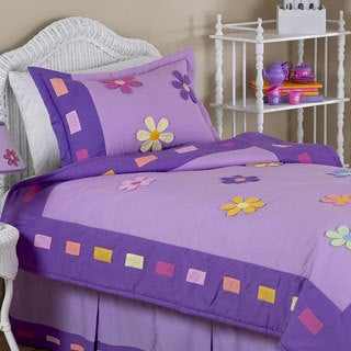 Sweet Jojo Designs Danielle's Daisies 3-piece Full/Queen Comforter set