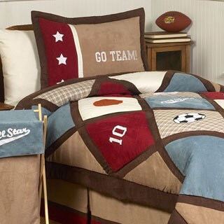 Sweet Jojo Designs Boys 'All Star' 3-piece Full/Queen Comforter Set