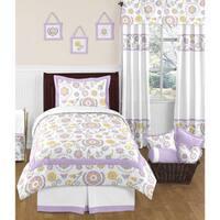 Sweet Jojo Designs Girls 'Suzanna' 4-piece Twin Comforter Set