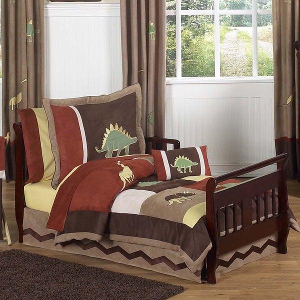 Sweet Jojo Designs Dinosaur Land 5-piece Toddler Comforter Set